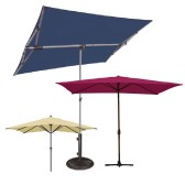 Rectangular Market Umbrellas