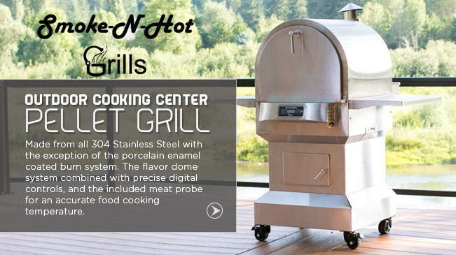 Tretco - Outdoor Cooking Center Pellet Grill