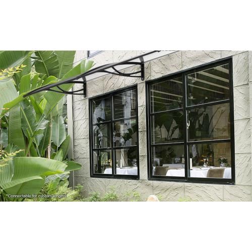 Advaning PN-SERIES PN Series - Polycarbonate Door Awning with Clear Glass