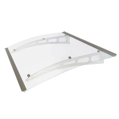 Advaning PA-SERIES PA Series - Polycarbonate Door Awning with Clear Glass
