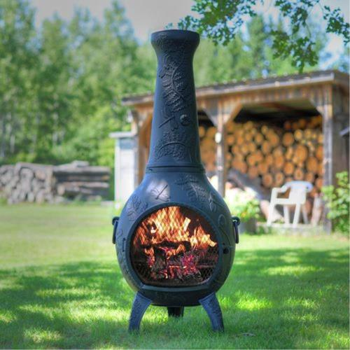 Blue Rooster AL014 Dragonfly - 52 Inch Regular Chiminea