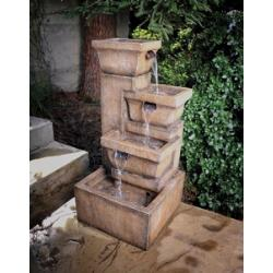 Ashboro - 16 Inch Fountain with Light - Y98881