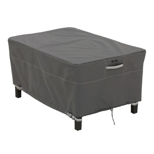 "Classic Accessories 55-167-045101-EC Ravenna - 38"" Rectangular Large Patio Ottoman/Table Cover"