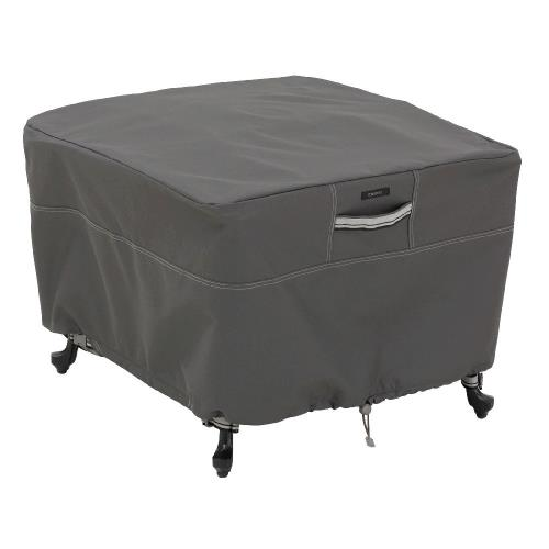 "Classic Accessories 55-169-045101-EC Ravenna - 26"" Large Patio Square Ottoman/Table Cover"