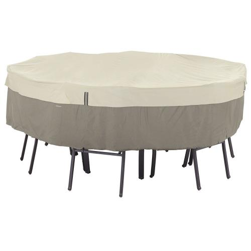 Classic Accessories 55-253-011001-00 Belltown - 96 Inch Large Bistro Table and Chair Cover