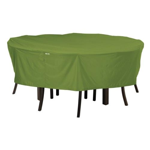 Classic Accessories 55-345-011901-EC Sodo - 72 Inch Round Table  and  Chair Cover