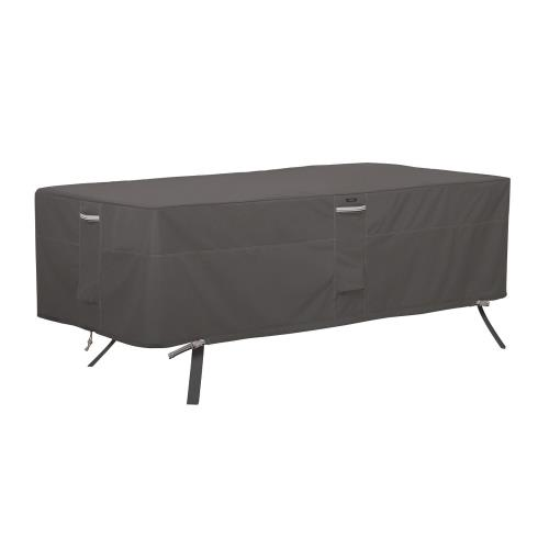 "Classic Accessories 56-044-055101-EC Ravenna - 46 x 86"" X-Large Rectangular/Oval Patio Table Cover"