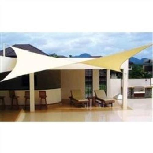 Custom Shade Sails CSS12-14 Premium 12'x14' Rectangle Commercial Grade Shade Sail