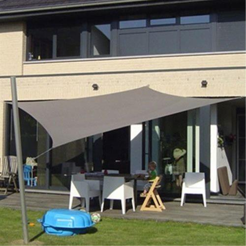 Custom Shade Sails CSS12S Premium 12' Square Commercial Grade Shade Sail