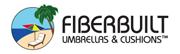 The Fiberbuilt Umbrellas Logo