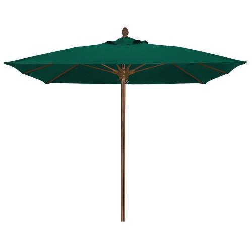 Fiberbuilt Umbrellas 6SQOPU Oceana - 6' Square Umbrella