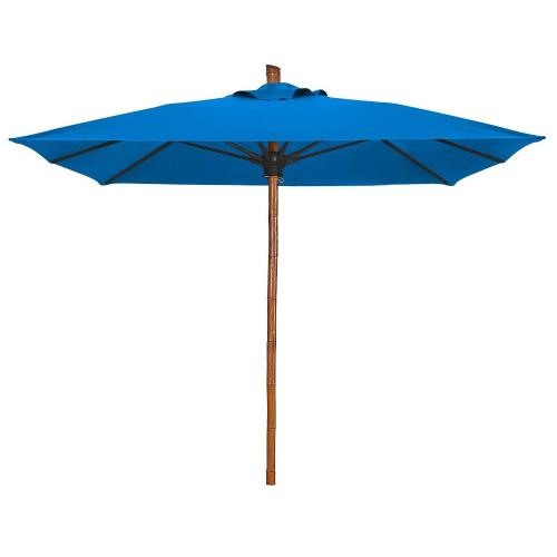 Fiberbuilt Umbrellas 6SQSPU Bambusa - 6' Square Umbrella