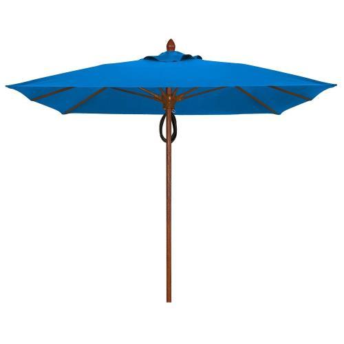 Fiberbuilt Umbrellas 7SQAPP Augusta - 7.5' Square Umbrella