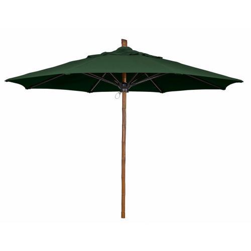 Fiberbuilt Umbrellas 9SPU Bambusa - 9' Octagon Umbrella