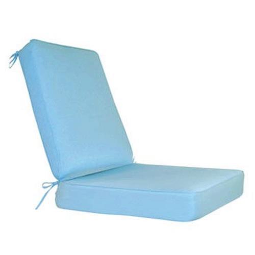 Fiberbuilt Umbrellas RI05BB Cushion for Wrought Iron Barrel Back Chair