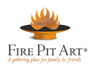 The Fire Pit Art Logo