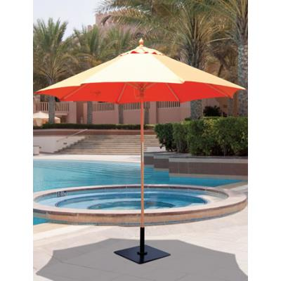 Galtech International 131 9' Round Umbrella