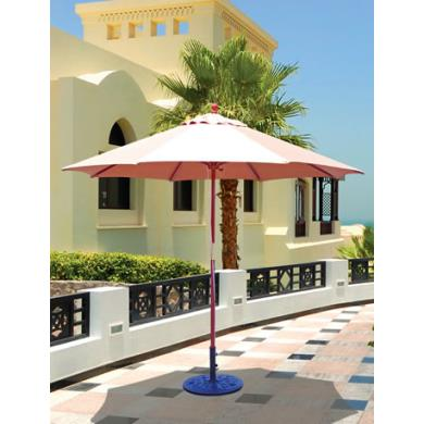Galtech International 132 9' Round Double Pulley Umbrella