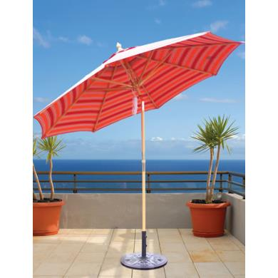 Galtech International 139 9' Octagon Umbrella with Pulley
