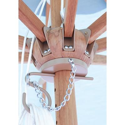 Galtech International 532 Designer - 9' Round Quad Pulley