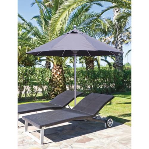 Galtech International 722 Manual Lift - 7.5' Round Umbrella