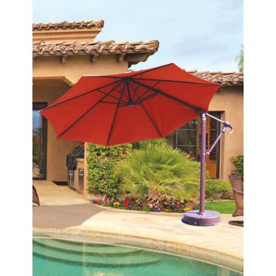 Galtech International 887 Cantilever - 11' Round Easy Lift and Tilt Umbrella
