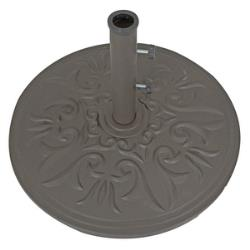 Cast Aluminum - 75 lb. Base - 075alDB