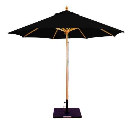 Galtech International 232 9' Double Pulley Octagonal Umbrella