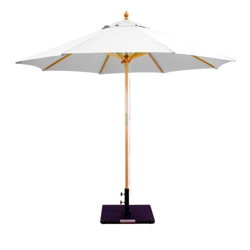 Galtech International 132 9' Round Double Pulley Umbrella