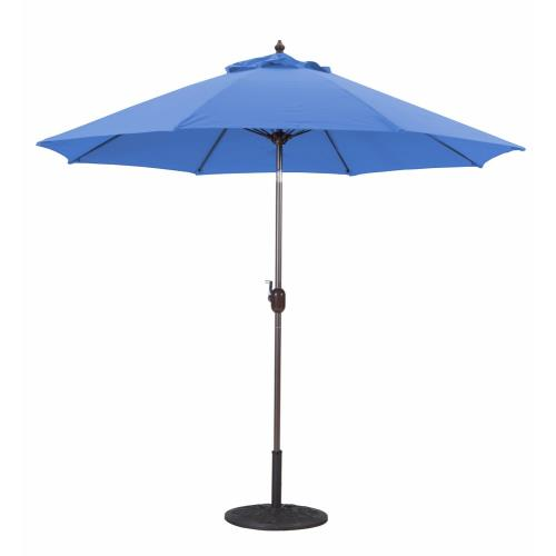 Galtech International 636 9' Manual Tilt Octagonal Aluminum Umbrella