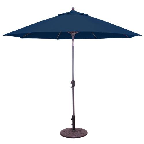 Galtech International 736 9' Standard Auto Tilt Octagonal Umbrella