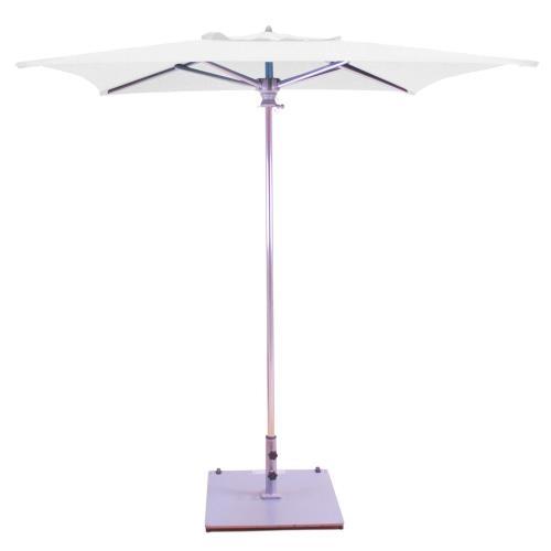 Galtech International 762 Manual Lift - 6' x 6' Square Umbrella