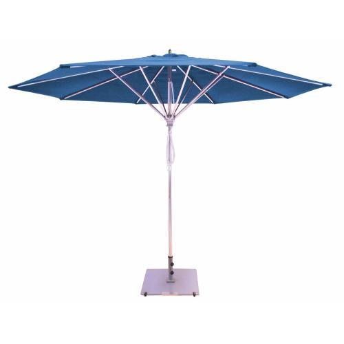 Galtech International 781 11' Deluxe Pulley Lift Commercial Round Umbrella