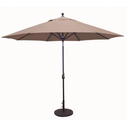Galtech International 789T Deluxe Auto Tilt - 11' Round Umbrella