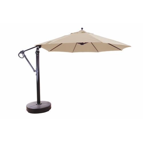 Galtech International 887 Cantilever - 11' Round Easy Lift and Tilt Umbrella