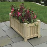 garden planters and posts