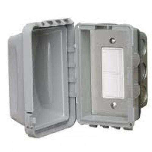 Infratech 14 4310 Accessory - Single Duplex Switch Flush Mount  and  Gang Box 20 Amp Per Pole
