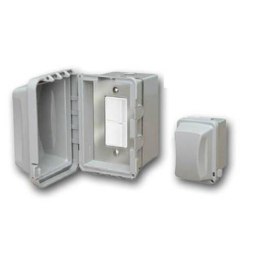 Infratech 14 4320 Accessory - Single Duplex Switch Surface Mount  and  Gang Box 20 Amp Per Pole