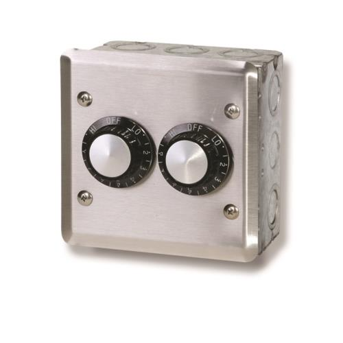 Infratech 14 4105 Accessory - 120 Volt Dual Reg With Wall Plate  and  Gang Box