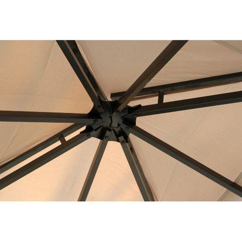 "Jeco Inc GZ1 10' x 9"" Metal Gazebo"