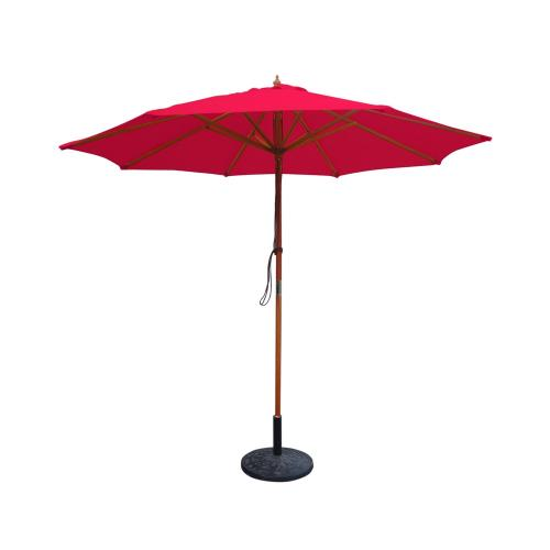 Jeco Inc UBP91-UBF 9' Wood Market Umbrella
