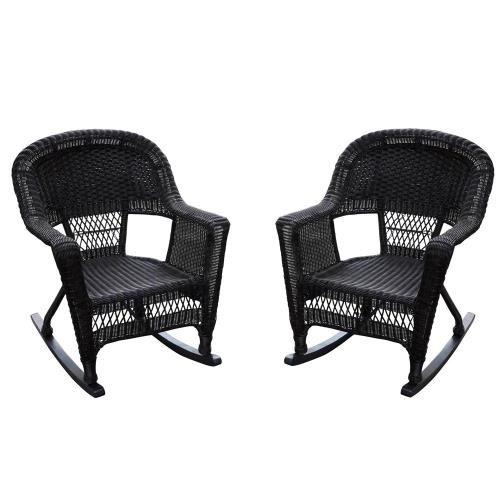 "Jeco Inc W002_2 36"" Cushion Chair (Set of 2)"
