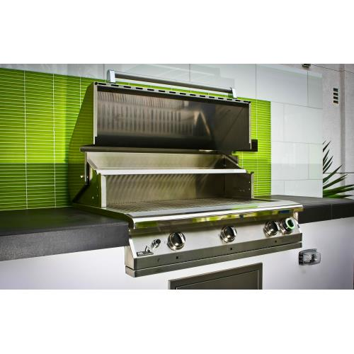 PGS Grills S36T Legacy - 39 Inch Pacifica Commercial Grill Head with 1 Hour Gas Timer