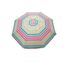 7' Beach Umbrella - UCARPINK