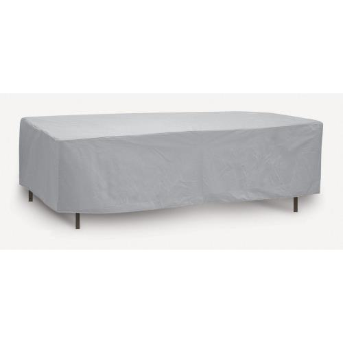 "Protective Covers 1155T 84"" Oval/Rectangular Table Cover"