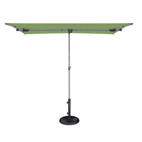 SimplyShade SSBU Capri - 4.95 Foot x 6.93 Foot Rectangular Balcony Umbrella