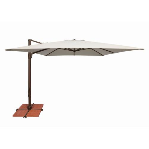 SimplyShade SSAD45 Bali - 10' Square Cantilever with Cross Base