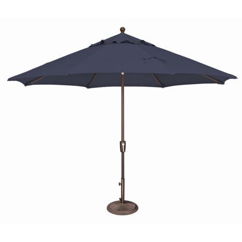 SimplyShade SSUM92 Catalina - 11' Octagon Umbrella with Push Button Tilt