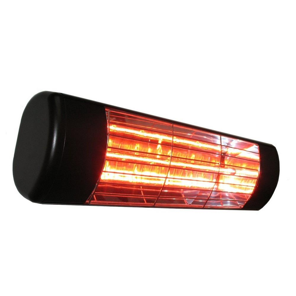 19 1500w Single Cette Low Volt Outdoor Infrared Heater With Gold Lamp