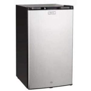 Refrigerator with Locking Door